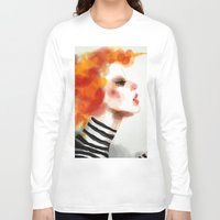 pin up Long Sleeve T-shirts featuring Pin by Dnzsea