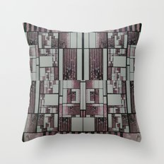 FX#509 - The Faded Geometric Throw Pillow