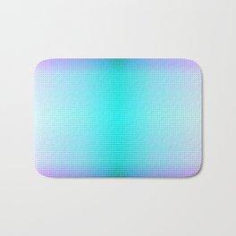 Purple Blue Black Ombre Hexagons Bi-lobe Contact binary Bath Mat