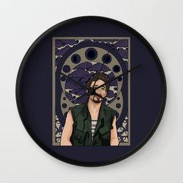 nouveau klaus Wall Clock