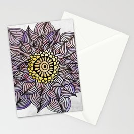 Purink Flower Stationery Cards