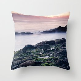 Oceans of Foreign Life Throw Pillow