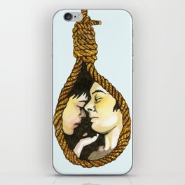 Lovers Knot iPhone Skin
