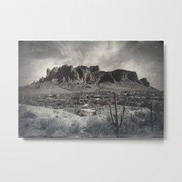 Superstition Mountain - Arizona Desert Metal Print