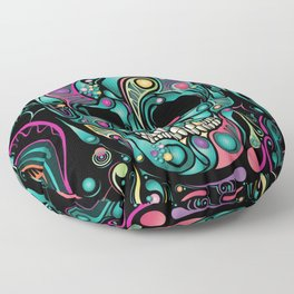 Skull Camouflage Floor Pillow