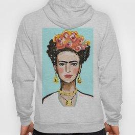 Frida Aqua Hoody
