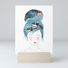 Magic in my head Mini Art Print