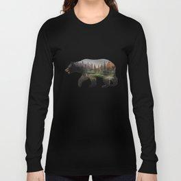 The North American Black Bear Long Sleeve T-shirt