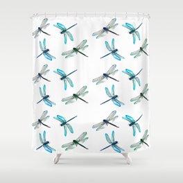 Dragonflies 4. Shower Curtain