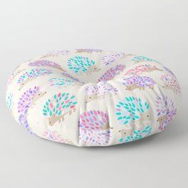 Hedgehog polkadot Floor Pillow