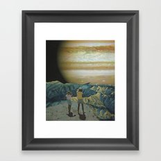 The Visitors Framed Art Print