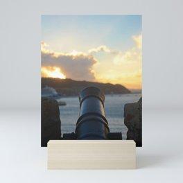 Cannon at Dawn Mini Art Print