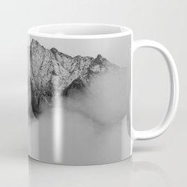Mountains (Black and White) Coffee Mug