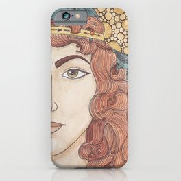 Deborah iPhone Case