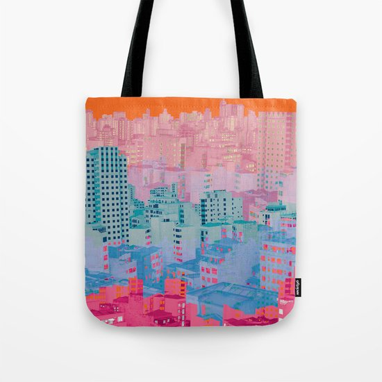 Fragmented Worlds II Tote Bag