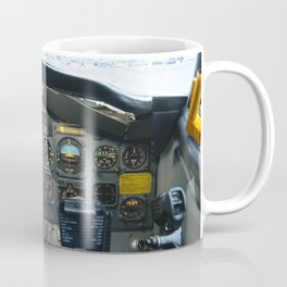 737 Airliner Cockpit Coffee Mug