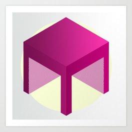 M Cube 1. Art Print