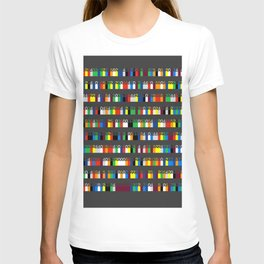 Color by Number: Pi T-shirt