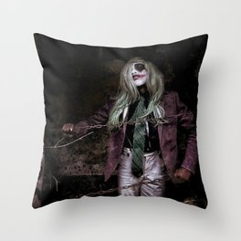 Joker Cosplay 3 Throw Pillow