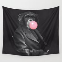 darwin Wall Tapestries featuring Darwin Gum by David Alegria