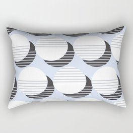 Simple Circle Pattern Rectangular Pillow