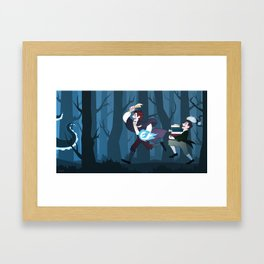 Magical vacation Framed Art Print