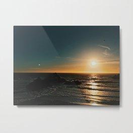 SF Sun Metal Print