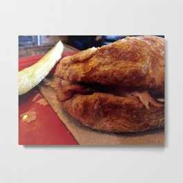 Croque Monsieur Metal Print