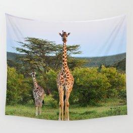 Giraffe Widlife Photography #society6 #home #decor Wall Tapestry