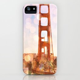 GOLDEN GATE BRIDGE - ABSTRACT iPhone Case
