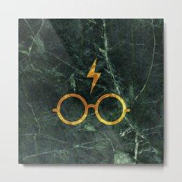 Harry P Stone Green Metal Print