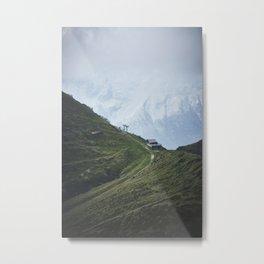 Bergamo Alps Metal Print