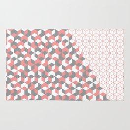 Hexagon(pink) #2 Rug