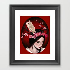 Rush of Blood to the Head Framed Art Print
