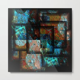 Electric Jumble Metal Print