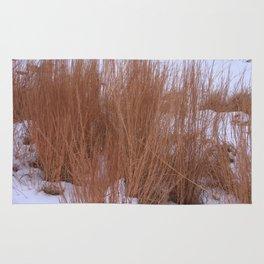 Winter Grasses Rug