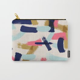 Bohemian tribal brush stroke Carry-All Pouch