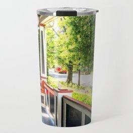 Patriotic Porch Travel Mug
