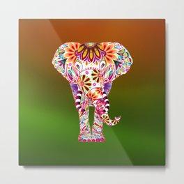 Fullcolor Elephant Metal Print
