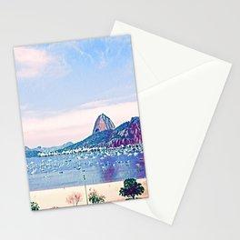 Rio de Janeiro - Pão de Açúcar - Art Stationery Cards
