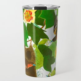 Baltimore Oriole James Audubon Vintage Scientific Illustration American Birds Travel Mug