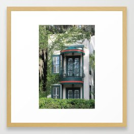 Romeo & Juliet balcony Framed Art Print