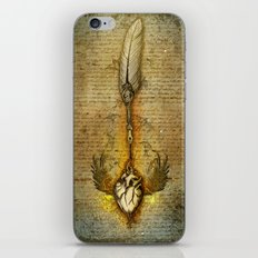 write your heart out iPhone & iPod Skin