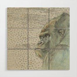 Gorilla Wood Wall Art