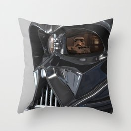 Darth Vader Playboy Flagrant Throw Pillow