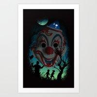 The Clown of South Carolina Art Print