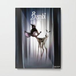 BAMBY Metal Print