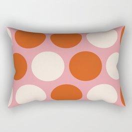 Ms Candy Polka Dots Rectangular Pillow