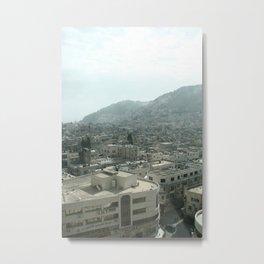 Nablus Palestine Metal Print