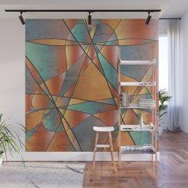 Sedona Glass Abstract Wall Mural